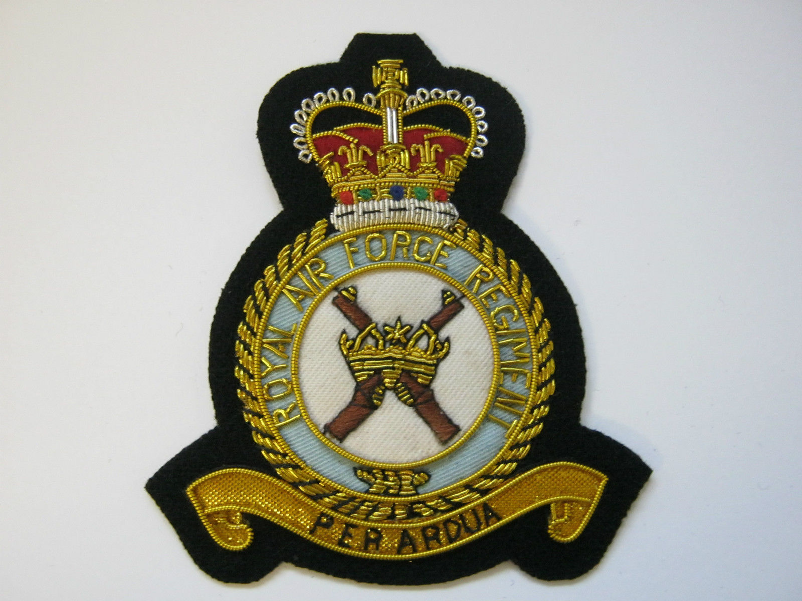 RAF Regiment Bullion Blazer Badge