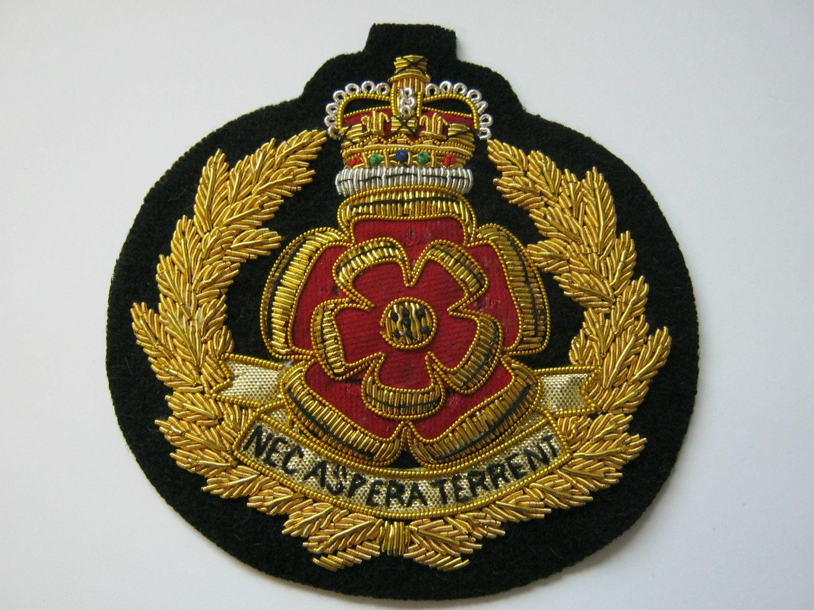 Duke Of Lancasters Bullion Blazer Badge