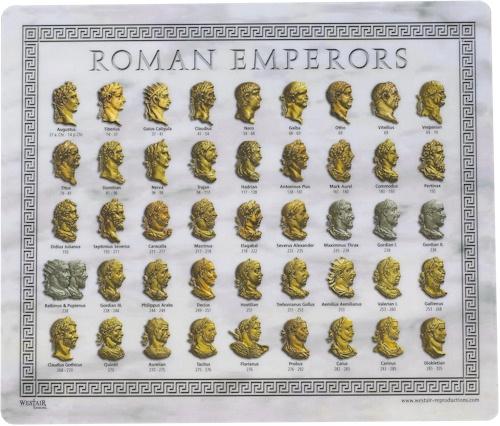Roman Emperor Mouse Mat