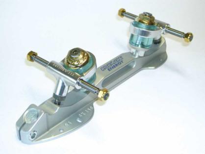Roll Line Energy Titanium Roller Skate Plates