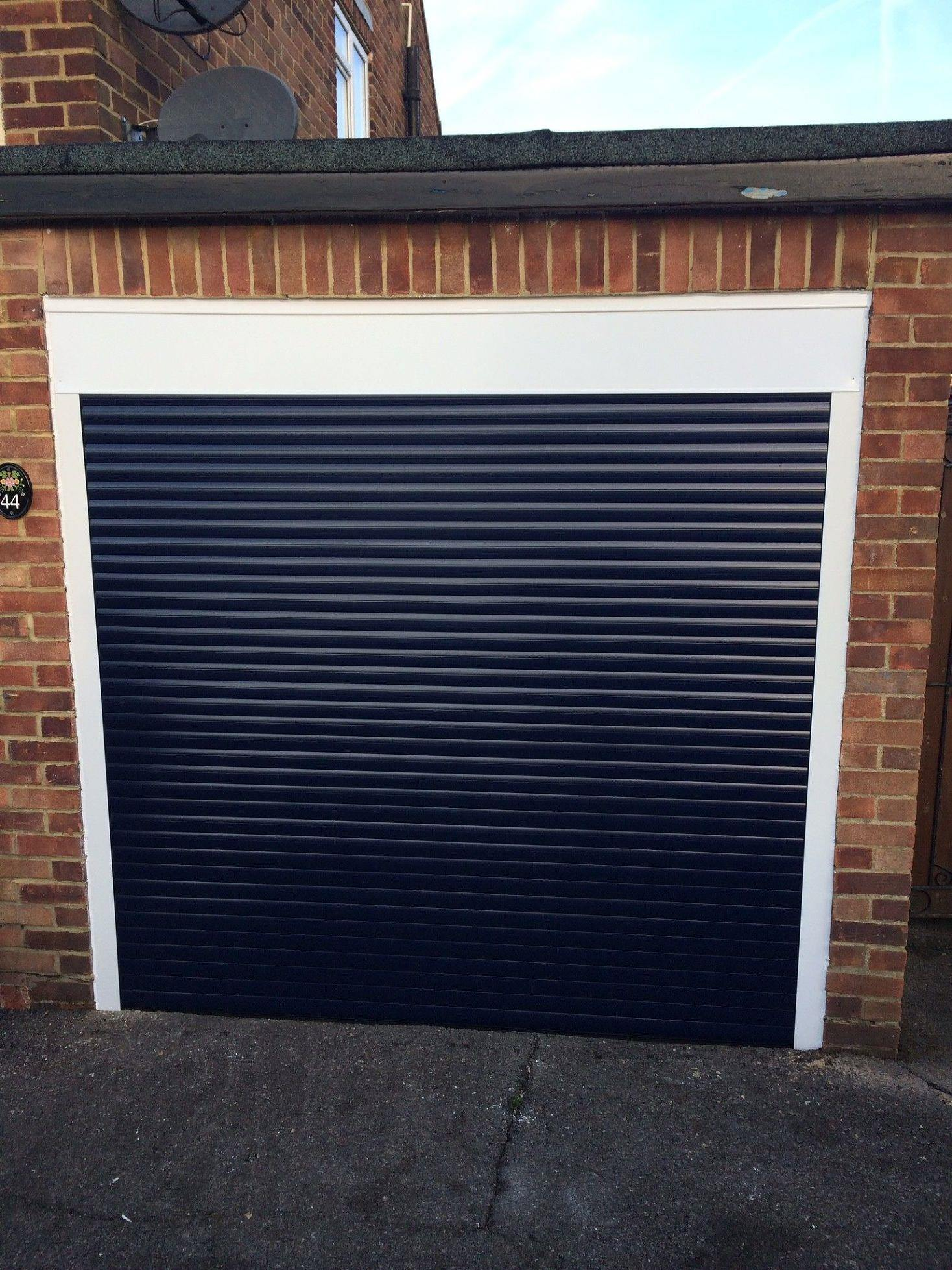 Fully Fitted Electric Insulated Roller Garage Door