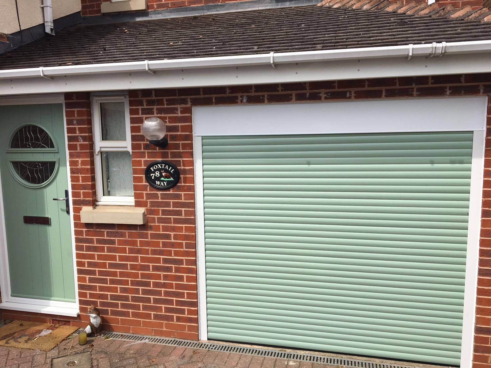 Insulated Electric Roller Garage Door