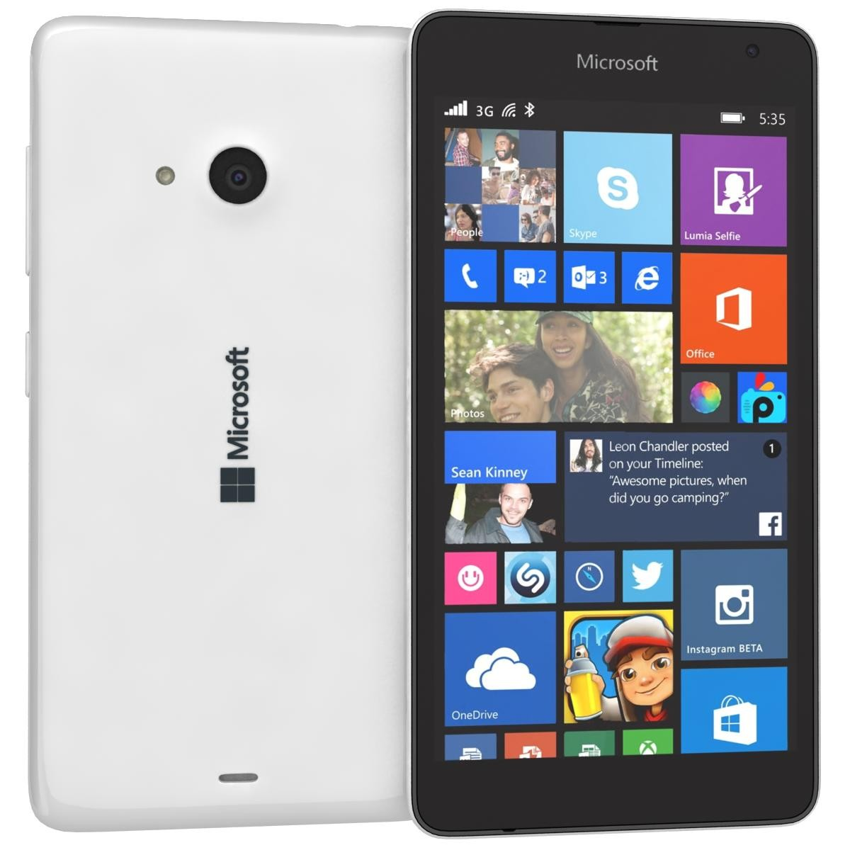 the microsoft lumia 535 dual sim update portfolio has offered