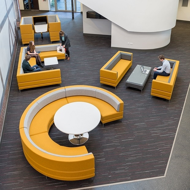 HenRay designer modular soft seating r. & Reception Chairs/ Upholstered Soft Seating