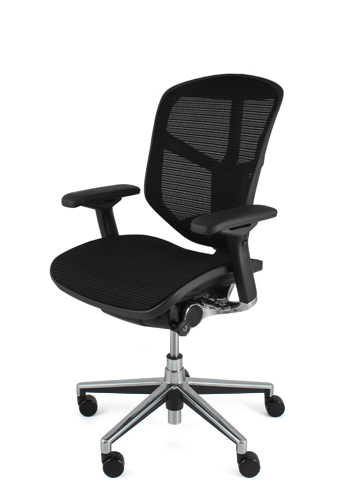 Ej Lam Enjoy Mesh Office Chair Without Headrest