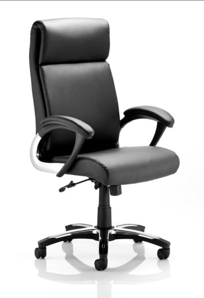 Italian style leather high back managers office chair - What is the meaning of back office ...