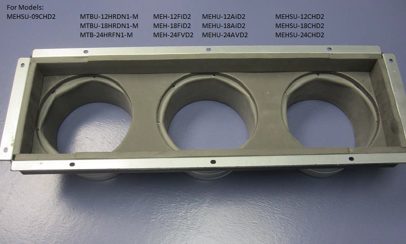 Midea Front Board Duct Adapter