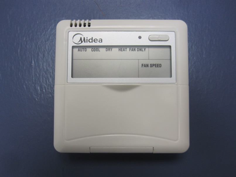 Midea Wired Thermostat For Mini Split Systems