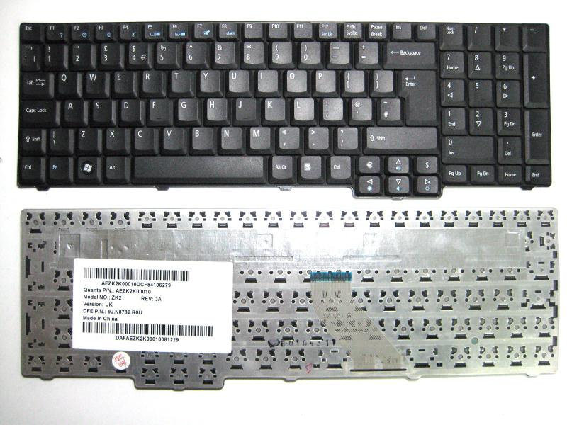 3274e7fe4e1 Acer Aspire 5235 Uk Replacement Laptop Keyboard