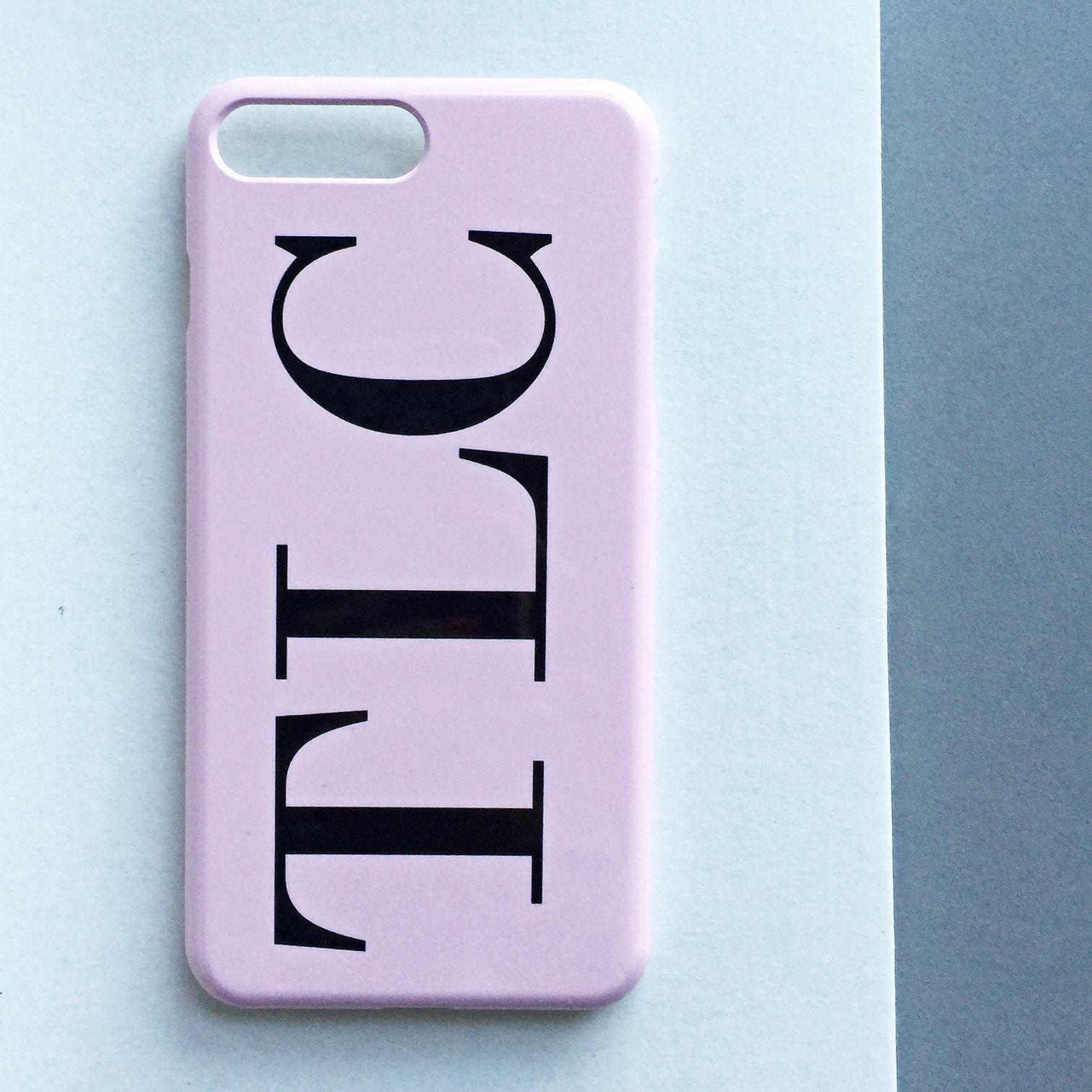 initials case iphone 7