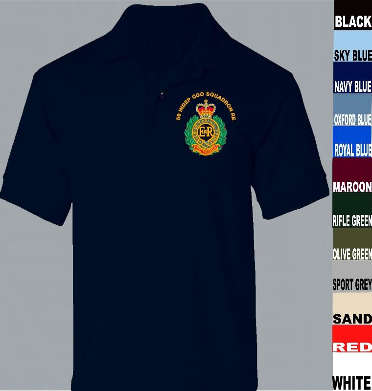 7e4a0216 Royal Engineers Polo Shirt