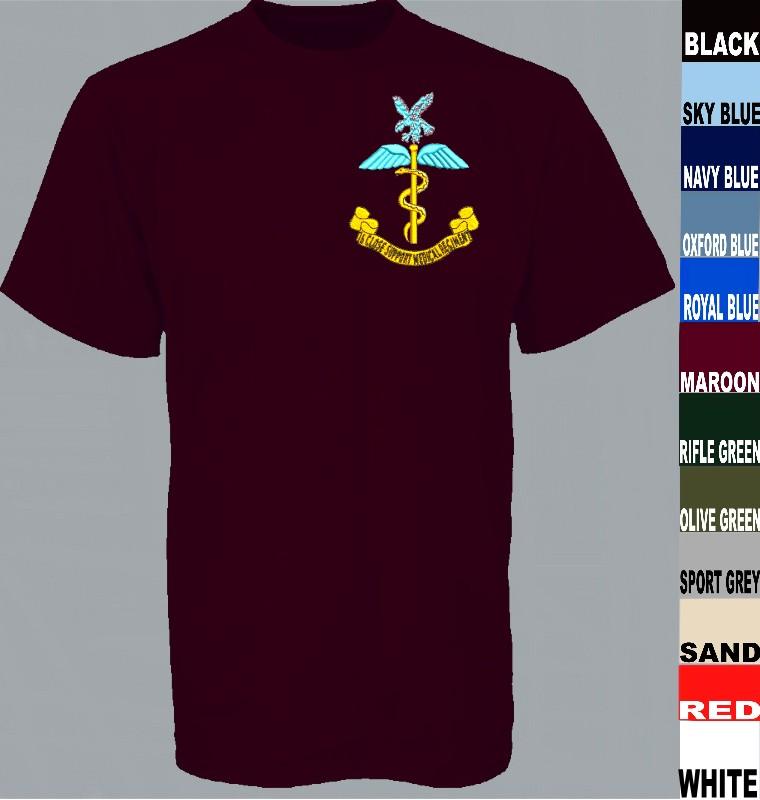 0c47f5cba 16 Close Support Medical Regiment T Shirt title=