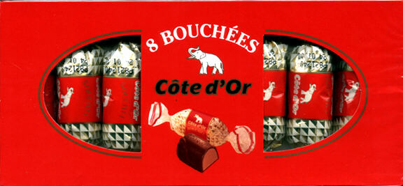 Bouchees 8 Pieces 1 Box Perfect Gift Cote D Or Bouchee