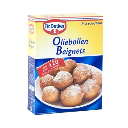 dr oetker beignets mix oliebollen mix mix for beignets 400 gr. Black Bedroom Furniture Sets. Home Design Ideas
