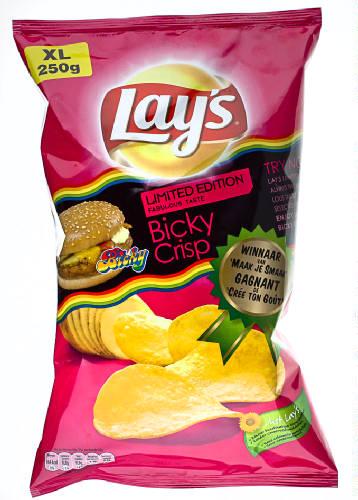 LAYS - LAY'S Chips Bicky Crisp - 250 gr net.