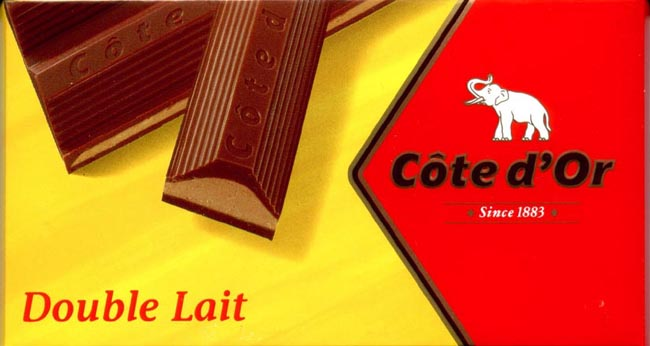 Double Lait 200 Gr Cote D Or Best Belgian Chocolate