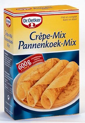 dr oetker pancakemix pannenkoekenmix crepe mix 600 gr. Black Bedroom Furniture Sets. Home Design Ideas