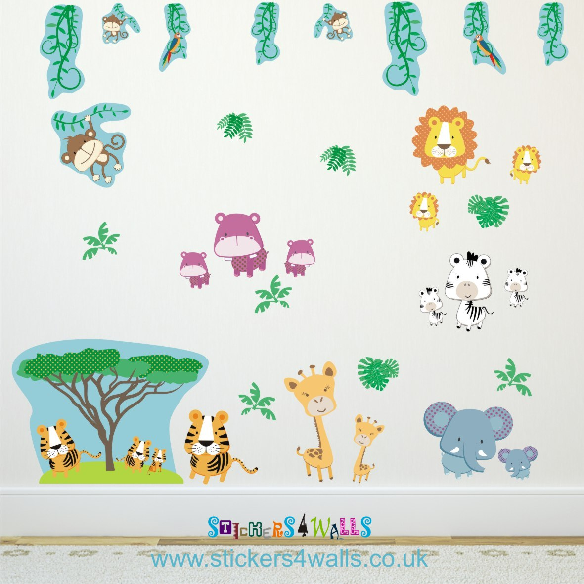 Fabristick Wall Stickers The Journey 2