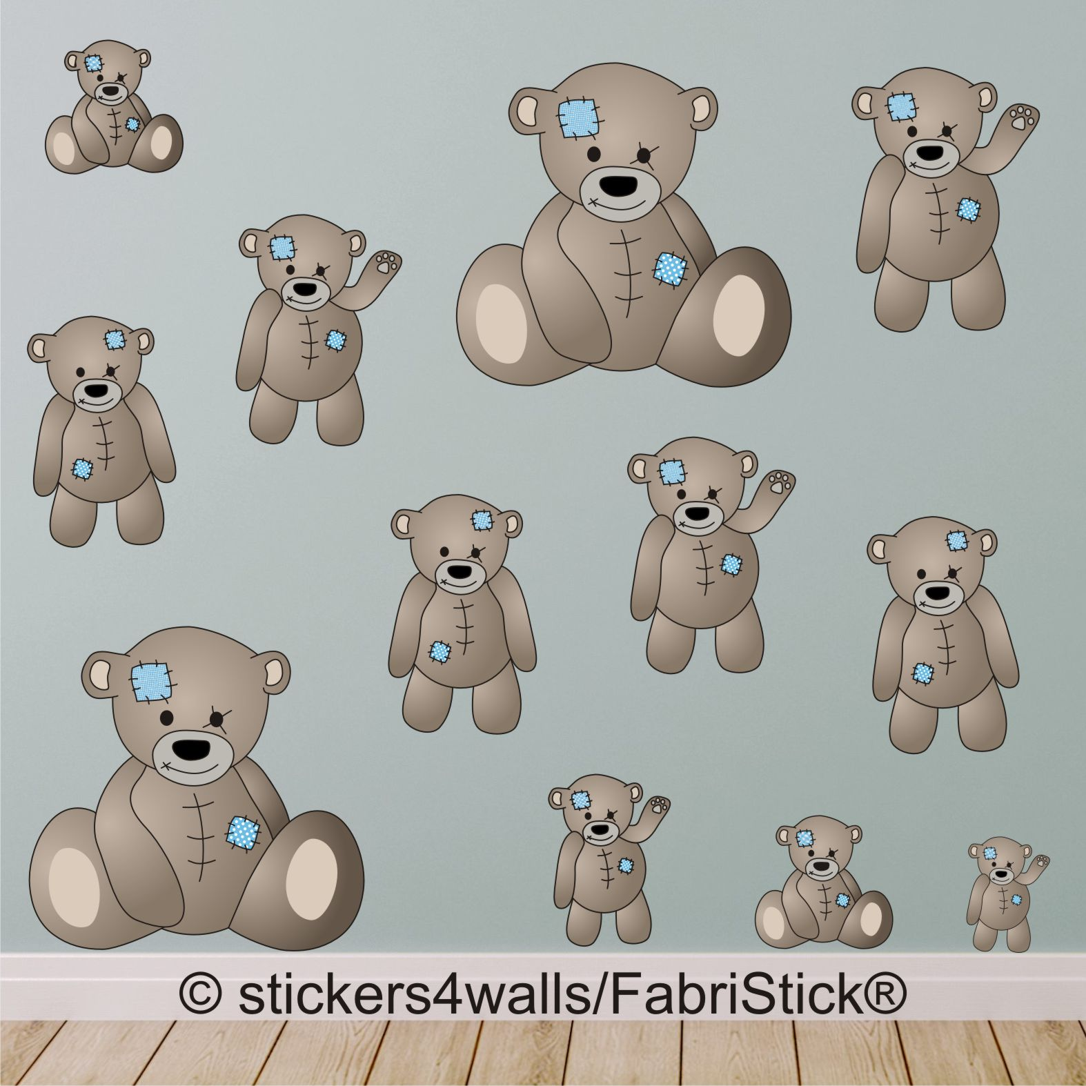 Fabristick® Stickers Are Perfect For Nurseries