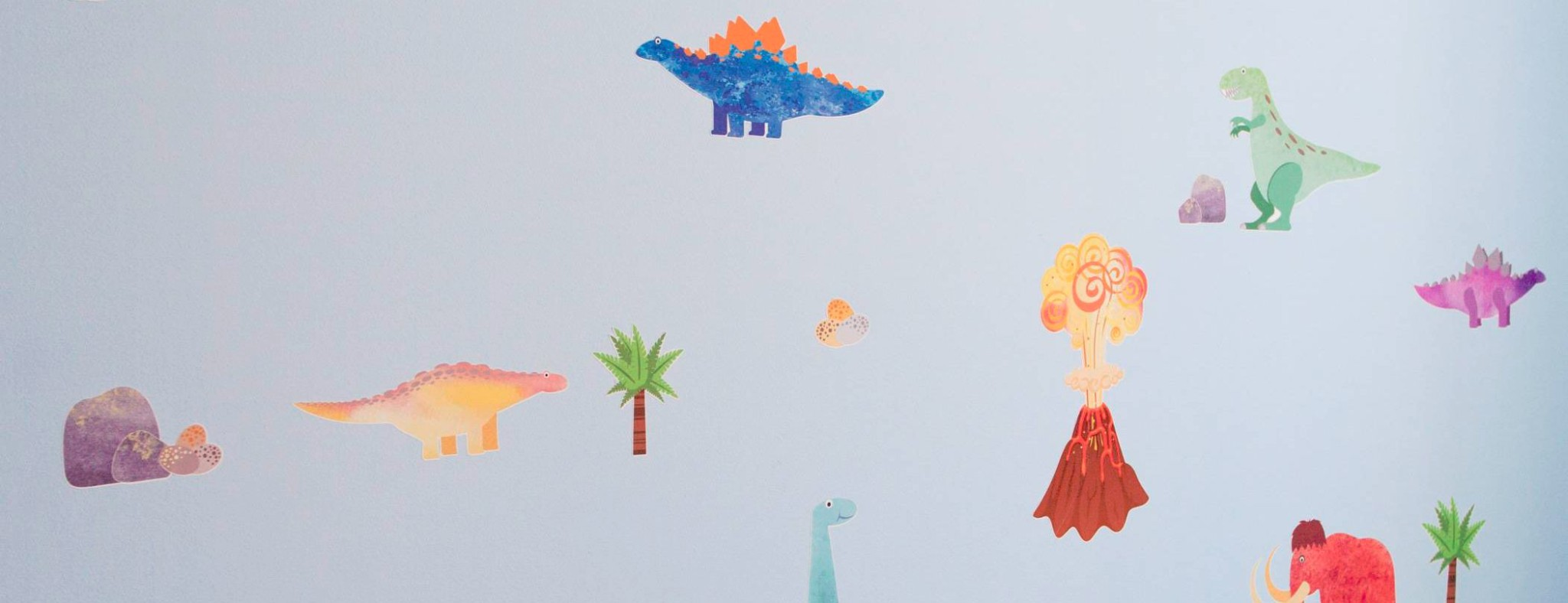 Roar-some dinosaur wall stickers - enter our competition!
