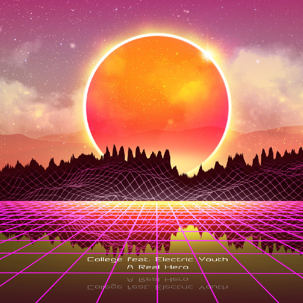 Synthwave sound