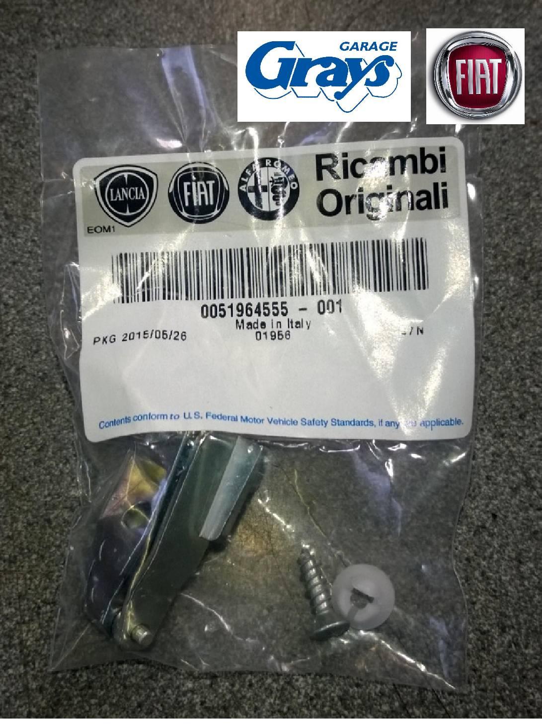 Fiat 500 Door Handle Hinge Kit Fiat 500 Door Handle