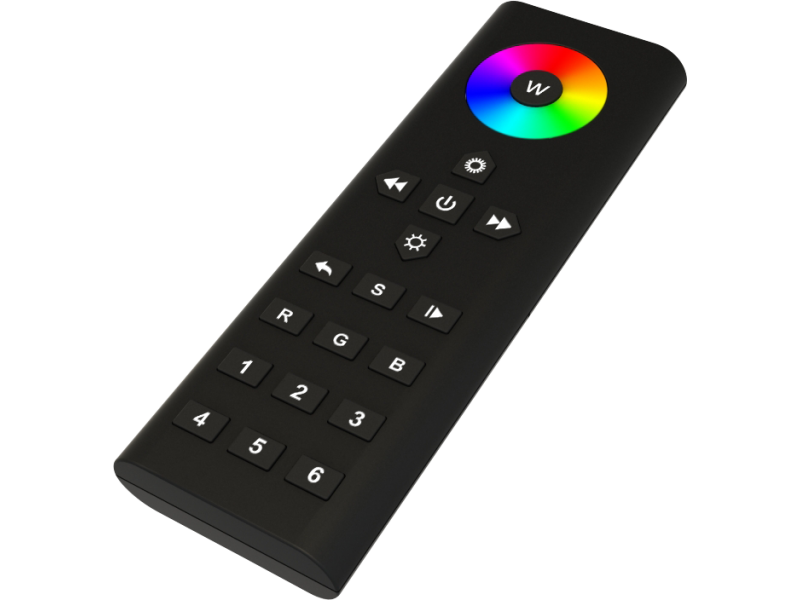 Colour Touch 6 Rgbw Remote 6 Zone Led Rf Remote Control