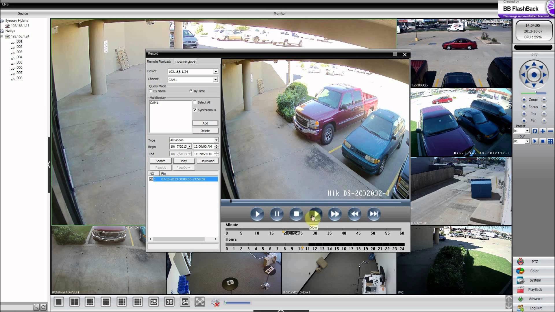 Zmodo 8 Channel NVR W/8 Cameras