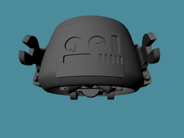 Robot using Nurbs Bottom