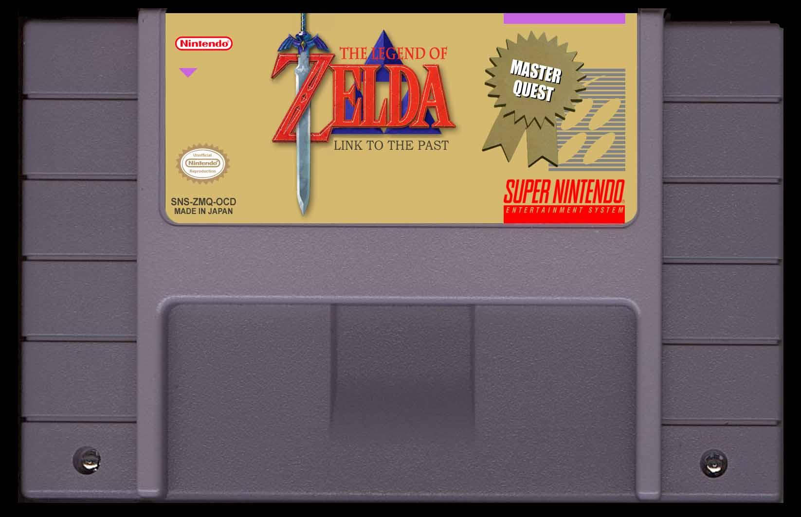 Zelda Link to the Past Master Quest