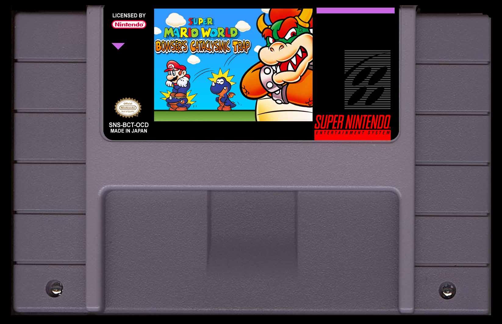 Super Mario World Bowser's Cataclysmic Trap