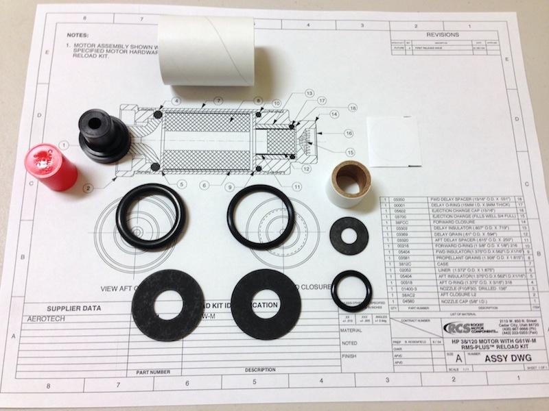 38/120 EMK™ High Power Experimental Motor Kit