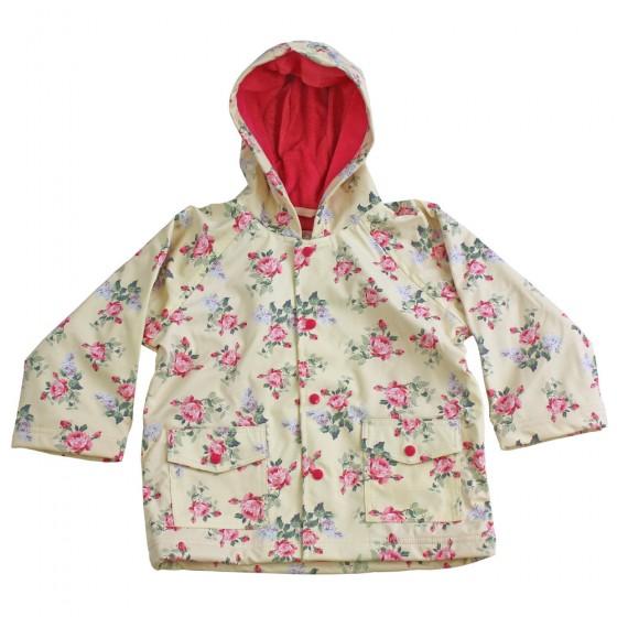 6b5cbf7c1 Rose floral design raincoat by Powell Craft