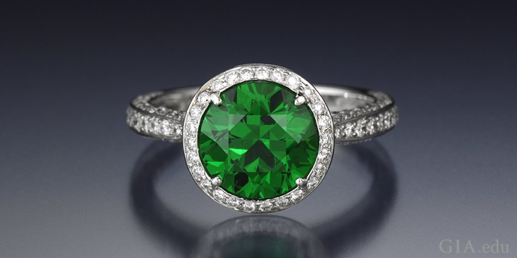 Garnets aren't always red. GIA Green Gemstones Buying Guide