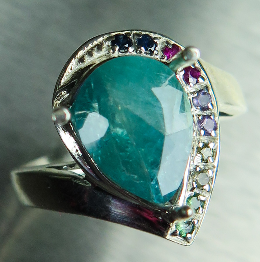 Grandidierite: One of the World's Rarest Gemstones now available from EVGAD Jewellery