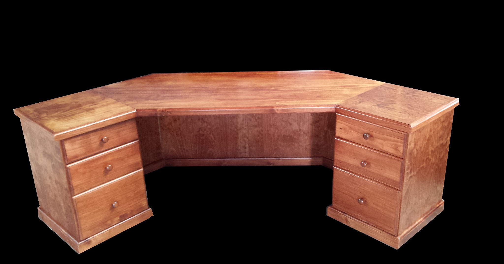 Large Custom Corner Desk