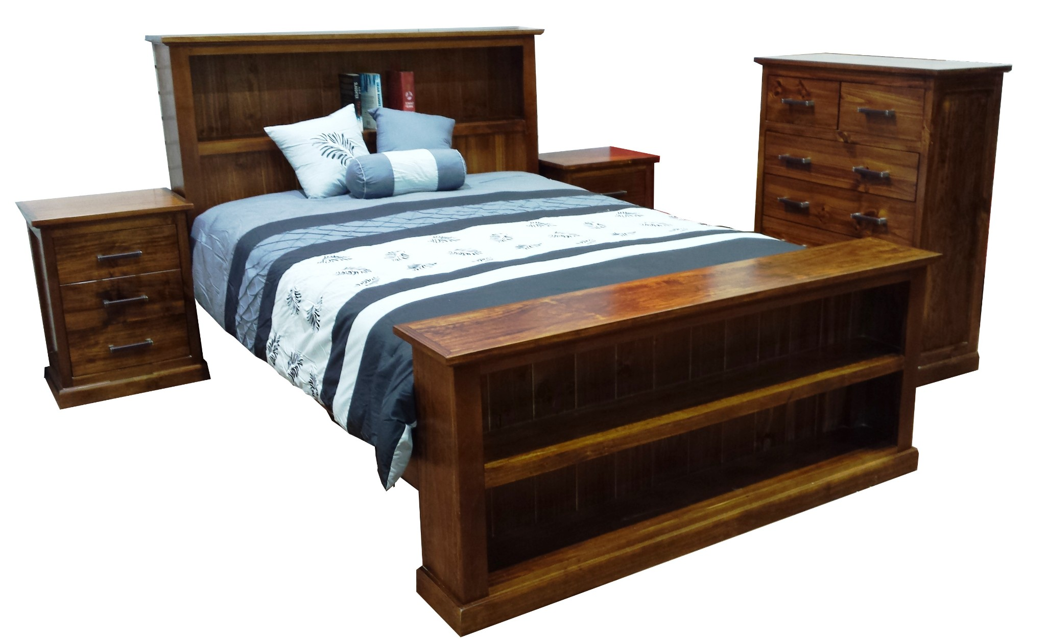 Kent Queen 4 Piece Bed Package
