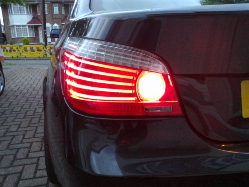 Bmw E60 Lci Led Taillights Retrofit Tail Lights Cables