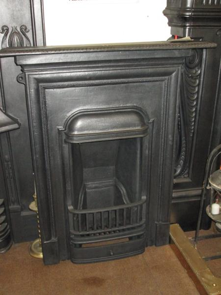 Original 1920 S Cast Iron Bedroom Fireplace