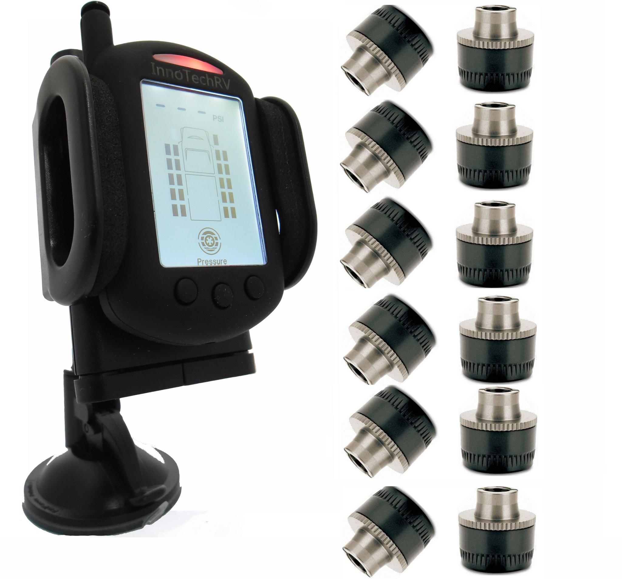 Innotechrv 12 Sensor Tire Pressure Monitoring System
