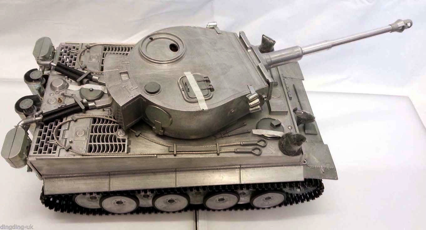 Radio Remote Controll Rc German Tiger I 1 16 Rc Tank