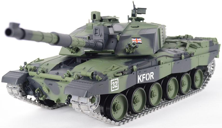 Heng Long Challenger Ii Special Edition Camouflage 1 16 Bb
