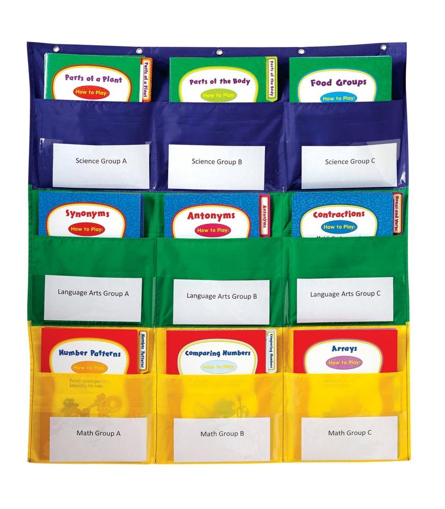 Center Storage Pocket Chart