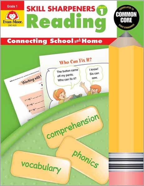 Skill Sharpeners: Reading, Grade 1 - Activity Book