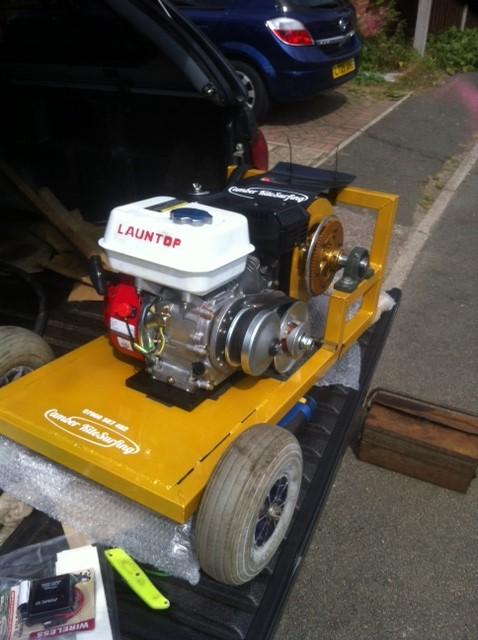 Winch Parts Comet Tav 2 torque converter replica