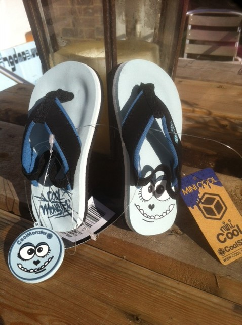 7611744db899 Cool Shoe Corporation Monster Child Flip Flops