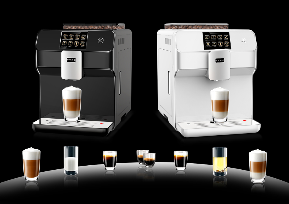 Mayer Automatic Bean To Cup Coffee Maker : BERG Toccare Uno B Series - Automatic One Touch Bean to Cup Coffee Machine