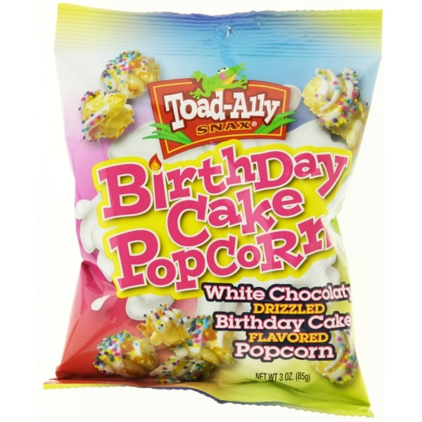 Toad Ally Birthday Cake Popcorn 85g