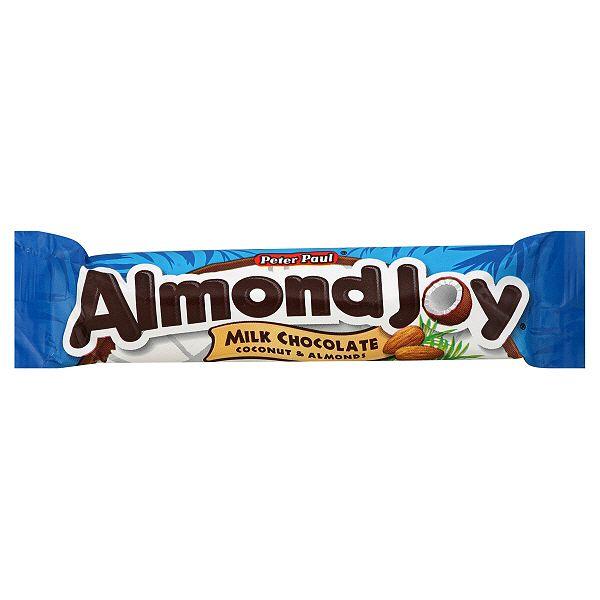 Peter Paul Almond Joy Coconut & Almonds Milk Chocolate Bar USA Import