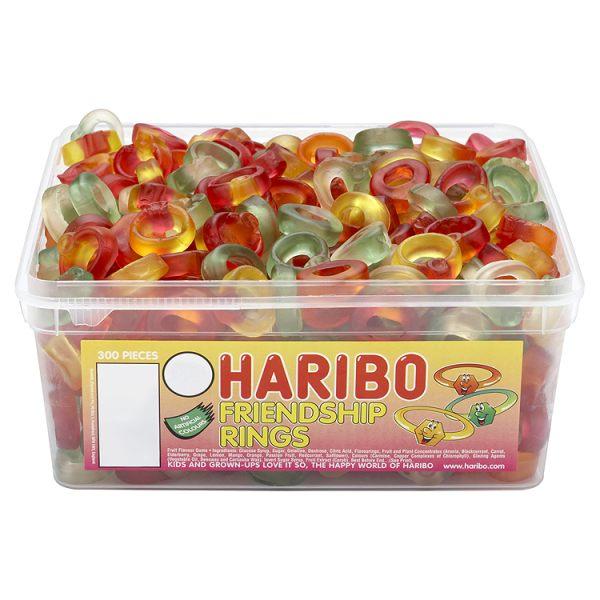 Haribo Friendship Rings Wholesale Tub